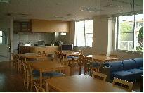 1F談話室兼食堂